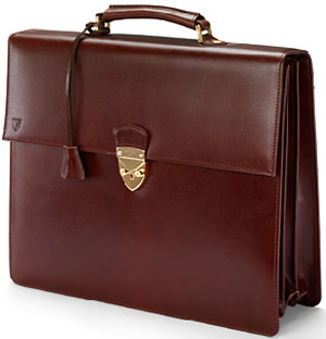 Aspinal of London Chairman's Laptop Briefcase: £650.