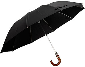 Aspinal of London Gent's Automatic Compact Umbrella: £95.