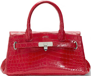 Asprey 1781 Baby Stretch, Geranio Crocodile Handbag: £11,000.