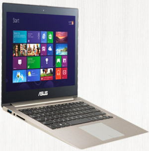 Asus Zenbook Touch UX31A.