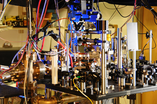 NIST's new atomic clock.
