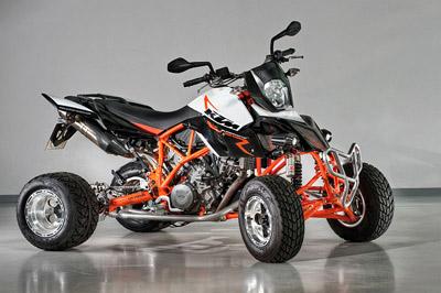 ATV custom-made from E-ATV Eicker Germany.