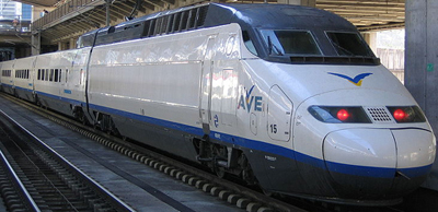 AVE Class 100 train.
