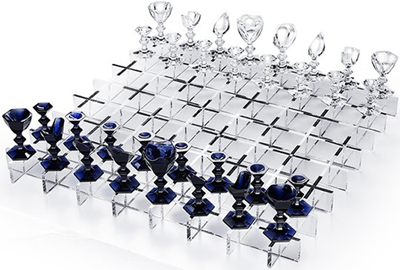 Baccarat Crystal Chess Set: US$$32,000.