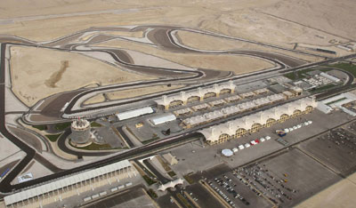 Bahrain International Circuit, Gate 255, Gulf of Bahrain Avenue, Umm Jidar 1062, Sakhir, Bahrain.