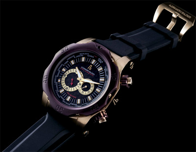 Alessandro Baldieri Palombari Gold Watch.