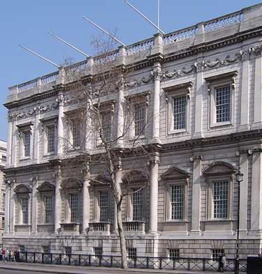 Banqueting House (Whitehall, London, England) by Inigo Jones (1622).