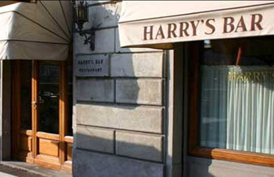 Harry's Bar, Via Lungarno Amerigo Vespucci, 22R, 50123 Firenze.
