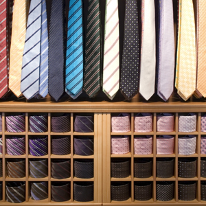 Battistoni silk neckties.