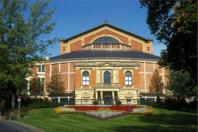 Bayreuth Festival, Germany.