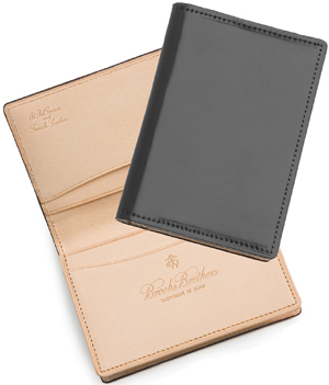 Brooks Brothers Cordovan Card Case: US$288.