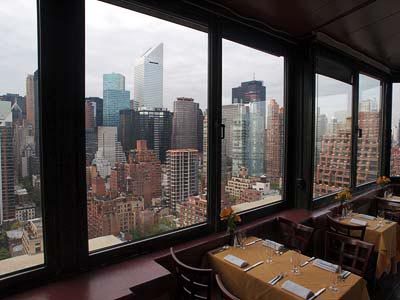 Top of the Tower Restaurant, Beekman Tower, 3 Mitchell Place New York, NY 10017.