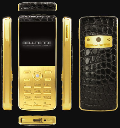 the ultra slim Bellperre luxury phone.