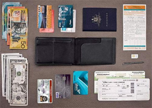 Bellroy Travel Wallet.