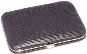 Fort Belvedere Leather Business Card Case: US$150.