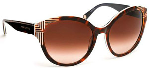 Henri Bendel Mademoiselle women's sunglasses: US$165.