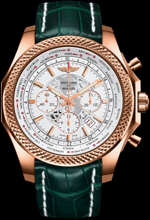 Bentley B05 Unitime Selfwinding chronograph. 18K red gold case.