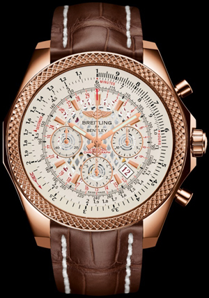 Bentley B06 Selfwinding chronograph. 18K red gold case.