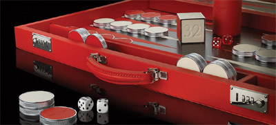 Geoffrey Parker for Bentley backgammon set: £2,950.