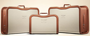 Bentley tailored luggage set with each Mulsanne Birkin Limited Edition.