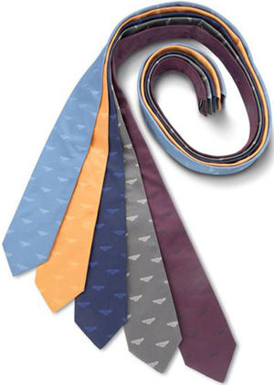 Bentley Italian silk ties: £50.