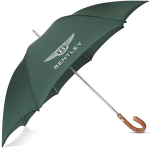 Bentley Collection Traditional Crooked Handle Umbrella: £75.