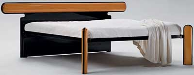 Luigi Caccia Dominioni L15 Bicolore Bed for Azucena.