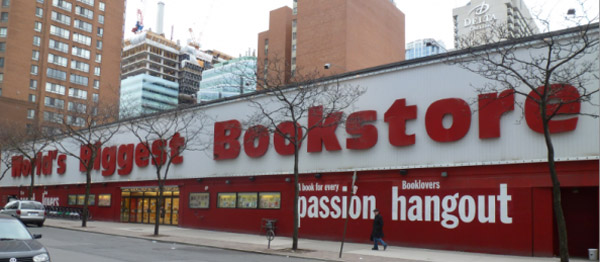 World's Biggest Bookstore, 20 Edward St, Toronto, ON M5G 1C9, Canada.