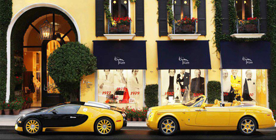 Bijan, 420 North Rodeo Drive, Beverly Hills, CA 90210.