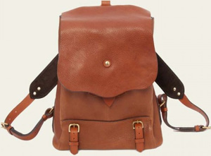 Bill Amberg Hunter Rucksack in Leather: £525.