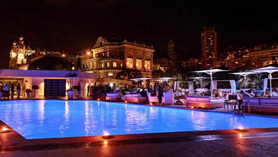 Billionaire Sunset Lounge, Hotel Fairmont Monte Carlo.