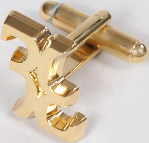 Billionaire Couture Cufflinks: US$225.