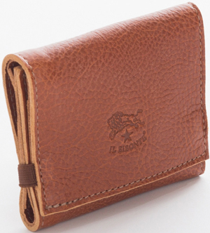 Il Bisonette natural cowhide leather Pinocchio wallet: US$148.