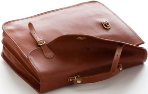 Il Bisonte cowhide leather Amadeus briefcase: US$1,286.
