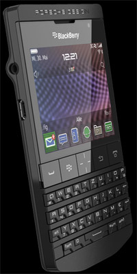 Blackberry Porsche Design P'9981 smartphone.