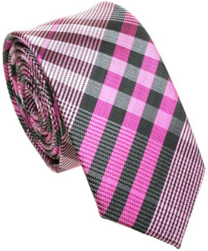 Blackpier Slim purple with black and white checkered design: £20.75.