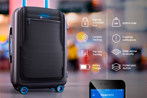 Bluesmart carry-on.