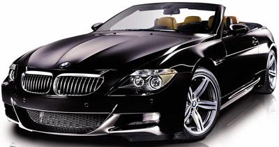 BMW M6 Convertible.