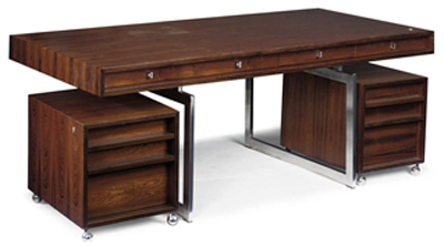Bodil Kjær Executive Desk, designed 1959.