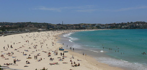 World's best beach: Bondi Beach, New South Wales, Australia.