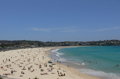 Bondi Beach, Sydney, New South Wales, Australia.