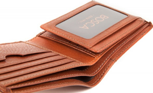 Bosca Continental ID Men's Bifold Wallet: US$105.