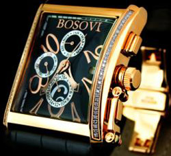 Men's Bosovi watch: US$17,590.00.