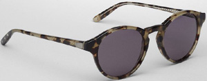 Bottega Veneta Havana Khaki Grey men's sunglasses: US$480.