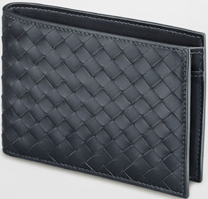 Bottega Veneta Light Tourmaline Intrecciato VN Men's Wallet: US$520.