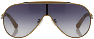 Veronique Branquinho Aviator model 8 men's sunglasses: £245.