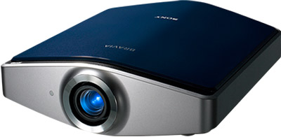 Sony Bravia projector.