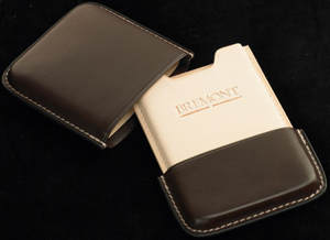 Bremont Leather Business Card Holder: £85.