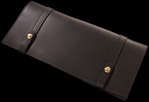 Bremont bridle leather watch and credit card holding wallet: £165.