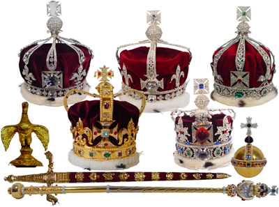 Crown Jewels of the United Kingdom.